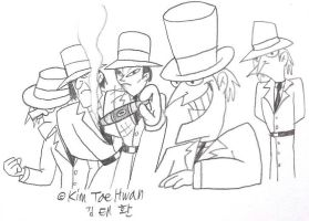 Hudsons and Watsons : Neverville Gangs by komi114