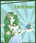 Earth Hour by cindre