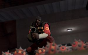 TF2 In Action - Demoman by AmberReaper