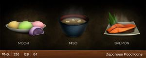 Japanese Food Icons by sukritact