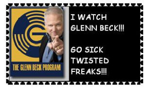Glenn Beck Stamp by Identical