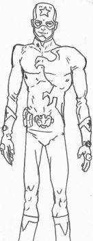 Left-Winger Costume rough sketch by Spake759