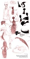 MU - Dean Hardscrabble sketches 2 SCARING EDITION by nattherat
