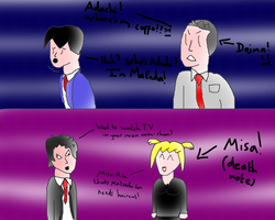 Adachi likes to travel by AdamTheJoker