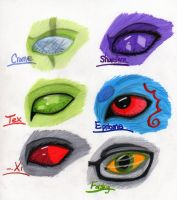 Gift Art Eyes by Dragon-of-Quelthalas