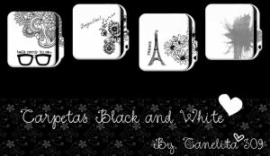 Folders  Black And White Paris by SriitaDeWatt