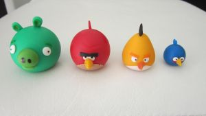 Angry Birds by JessicaGuia