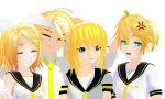 MMD The Kagamine's by Shichi-4134