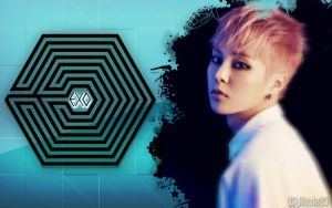 EXO M Xiumin's Overdose Wallpaper by Rizzie23