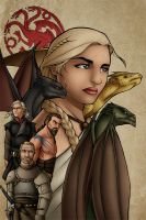 Khaleesi: Mother of Dragons by TravisTheGeek