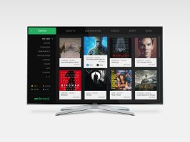 ondemand - TV User Interface / Experience by zaffa91