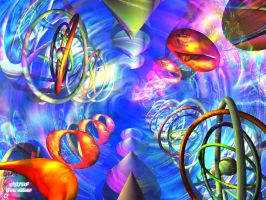 3D Abstract 7 by Don64738
