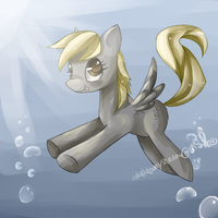 DeRpY bubbles by AquaGalaxy