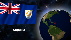 Flag Wallpaper - Anguilla by darellnonis