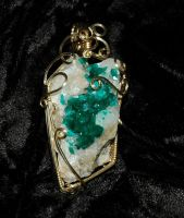 Emeralds and ice by DPBJewelry