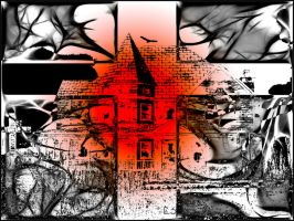 Halloween House by BL8antBand