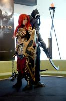 Diablo III : Crusader and Malthael by LadyAngelus