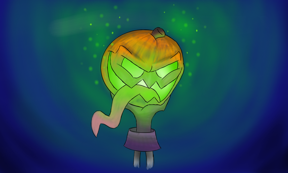 The Headless' Pumpkin by BashfulSoul