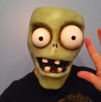 Plants vs Zombies Custom mask by gedionki