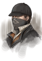 Aiden Pearce by poorbird