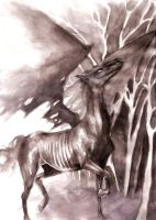 Thestral by Stefefef