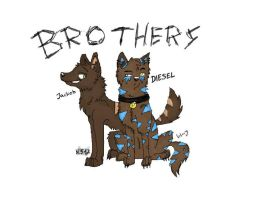 brothers by wolf-jasmine