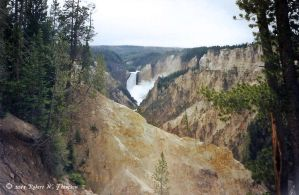 Falls of the Yellowstone by hunter1828