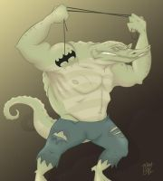Killer Croc Redesign by whysoawesome