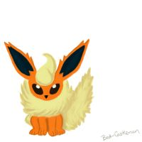 Flareon by pascalscribbles