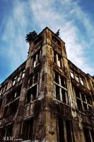 The old building in jakarta by addk