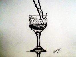 Glass of Water by AnoushayKhan