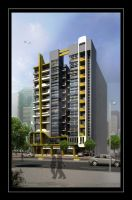 Residential building by M-Salman