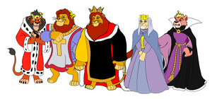 The Lion King - Royal Attire by KingLionelLionheart