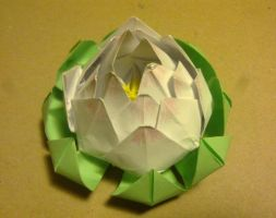 Lotos origami by Ritana-chan