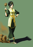 Toph bei fong by Louie-Oh