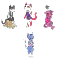 My villagers by Alisha-town