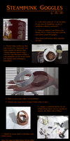 Steampunk Goggles: Tutorial (em portugues-BR) by anahel