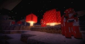 Minecraft - Biome Champignon : Nuit tranquille by AleksCube