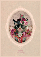 Victorian Cat by RoOZze