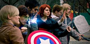 Avengers Group Shot by JoanneDelany
