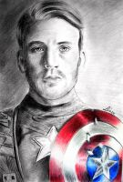Captain America by Liiinou