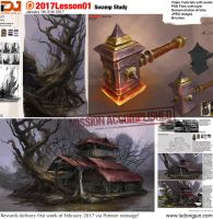 2017Lesson01 Swamp Study by DongjunLu