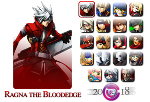 BlazBlue: CS Icon Pack by Fatal-Exodus