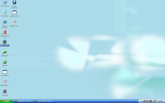 My first Lapcicle Desktop by hnash2008