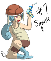 #7 Squirtle by banANNU