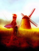 Don Quijote V by Poerti