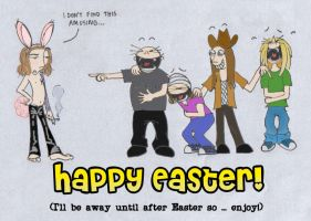 Happy easter ... late by ihni