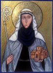 Saint Hilda of Whitby by Bombadyl