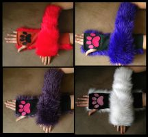Kitty Arm Warmers long batch 1 by StuffItCreations