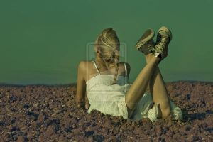 ALL THE TUMBLEWEED FIELDS 002 by salonika
